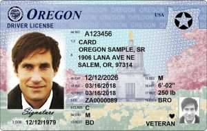 Oregon Real Id